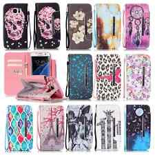 Magenetic wallet phone case flip cover+strap+stand+card holder+TPU protect skins