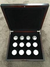 2005 History of the Royal Navy 18 piece £5 Silver Proof coin set - Free Postage