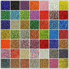 75g Glass Seed Beads - (size 8/0) Approx 3mm - Jewellery Making - Craft