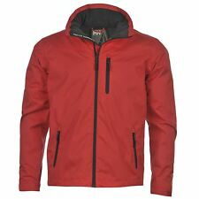 Helly Hansen Crew Neck Waterproof Jacket Mens Red Jackets Coats Outerwear
