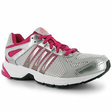 Adidas Duramo 5 Womens Running Shoes Trainers White/Met/Pink Jogging Sneakers