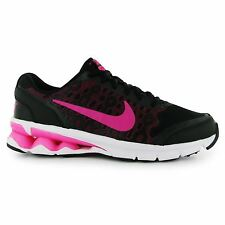 Nike Reax Running Shoes Womens Black/Pink Jogging Trainers Sneakers Fitness