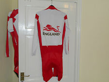 Team England Commonwealth Games Rider Issue cycling skinsuit bike short Giordana
