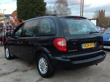 BLACK CHRYSLER VOYAGER 2.8 CRD LX AUTO, 1 PRE OWNER + HEATED LEATHERS + 7 SEATER