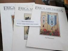 Erica Michaels Cross Stitch Leaflet Your Choice