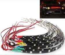 2Pcs 12 LEDs 30cm 5050 SMD LED Strip Light Flexible Waterproof 12V DIY Car Decor