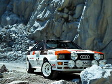 Audi Quattro Group 4 Rally Car 1981 Classic Sport Gigantic Print POSTER
