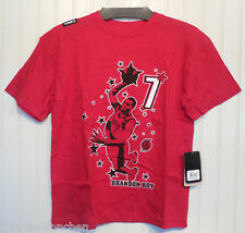 NWT UNK NBA Brandon Roy Portland Trailblazers Boys T-Shirt M Red MSRP$24