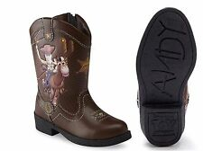 Disney Toy Story Woody Boys Light Up Cowboy Boots Size Defect Size 6