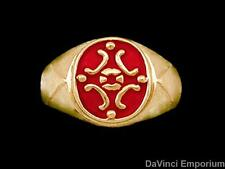Medieval Signet Ring 14k Yellow Gold