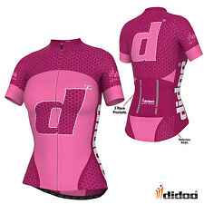 New Women's Pro Cycling Half Sleeve Shirts Team Racing Jacket Sublimation Jersey
