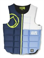 2016 Liquid Force Flex Wakeboard Watersports Impact Vest S XL, Blue Red. 51100