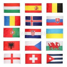 5 x 3ft Polyester Banners World National Country Flags Indoor Outdoor Decoration