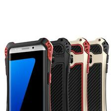 Silicone Mobile Phone Case Skin W/2 Touch Tempered Glass for Samsung S7/S7 Edge