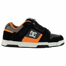 DC Gents Mens Stag Skate Shoes Leather Sneakers Trainers Laced Ankle Support
