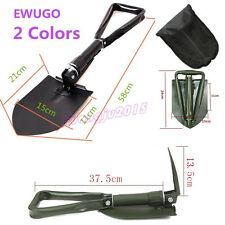 Folding Spade Shovel Emergency Camping Entrenching Army Tool Pick Axe Car Scoop