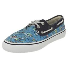 Men's Sperry Top Sider Hawaii Blue Textile Casual Shoes Bahama 2