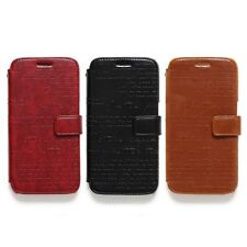 Zenus Lettering Leather Protect Card Slim Diary Cover Case For Samsung Galaxy S6