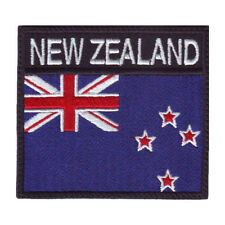NEW ZEALAND BADGE FLAG EMBROIDERED  PATCH
