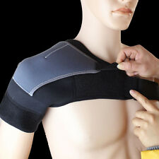 Left&Right Gym Sports Adjustable Shoulder Joint Injury Support Brace Pad Strap