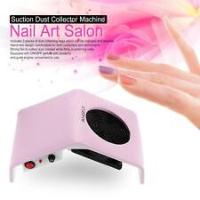 30W Nail Art Salon Suction Dust Collector Machine Vacuum Cleaner Set G4E3