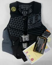 Jet Pilot JP14237 Men's Shaun Murray Nylon Neoprene PFD Life Vest Jacket Black