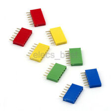 10pcs 6pin 1*6 Single Row Female pin Header 2.54mm Socket Connector for Arduino