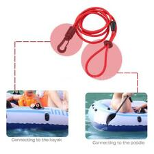 4mm Elastic Safety Fishing Rod Lanyard Paddle Leash For Kayak Canoe Useful! K6J1