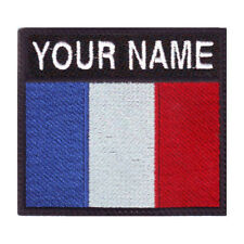 FRANCE BADGE CUSTOM FLAG EMBROIDERED PATCH