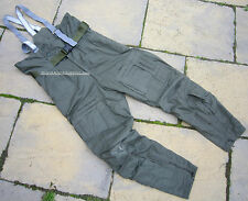 UK RAF AIRCREW COLD WEATHER TROUSERS MK3A,SALOPETTES,COSALT/BALLYCLARE,AIR FORCE