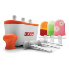 GENUINE Zoku Quick Pop - Ice Lolly maker - Easy and quick to make fun ice pops