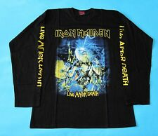 Iron Maiden - Live After Death T-shirt Long Sleeve size L