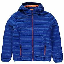 Karrimor Childrens Hooded Down Jacket Boys Zipped Top Clothing