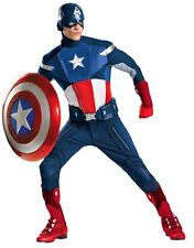 """Costumes! Captain America Avengers Deluxe Theater Quality Costume 50-52"""" Chest"""