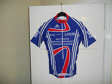 Team GB SKY Olympic development Rider Issue cycling bike shirt jersey Adidas