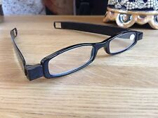 Twisties Folding Reading Glasses by M&H From the UK. Fold Flat Unisex +1.00-3.5