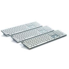 Lot of (3) Genuine Apple Aluminum Wired Keyboard A1243 for Parts Not Working