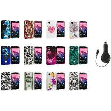 For LG Google Nexus 5 Design Hard Snap-On Case Cover Accessory+Ret Charger