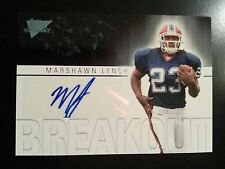 Marshawn Lynch 2007 Topps Performance Breakout Autograph Auto RC