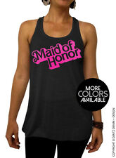 Doll Maid of Honor - Barbie Bridal Collection - Black Flowy Tank Top - 2 Inks