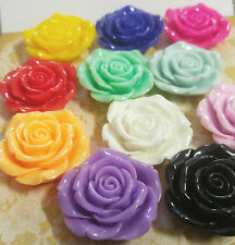Large Flower Bead Cabochon Resin Flower Bead 40mm You Pick Big Flower Bead