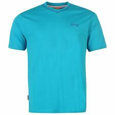 Slazenger Gents Mens V-Neck T-Shirt Short Sleeve Tee Top