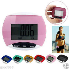 Mini LCD Digital Run Step Pedometer Walking Distance Calorie Counter Waterproof