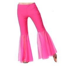 For Sexy Belly Dance Gauze Pants Dancing Tribal Costume Chiffon bell-bottoms