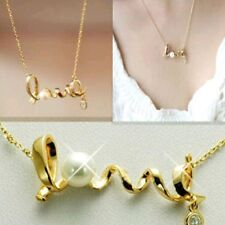 Beautiful Girls Fashion Pendant Chain Necklace LOVE Letter New