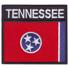 TENNESSEE BADGE FLAG EMBROIDERED  PATCH