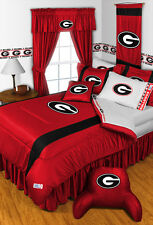 Georgia Bulldogs Comforter and Sheet Set Twin Full Queen King Size