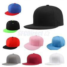 Adjustable Blank Solid Colors Baseball Cap Unisex Hat