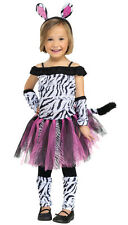 Zebra Girl Toddler Costume