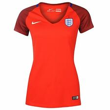 Nike England Away Jersey 2016 Womens Challenge Red Football Soccer Shirt Top